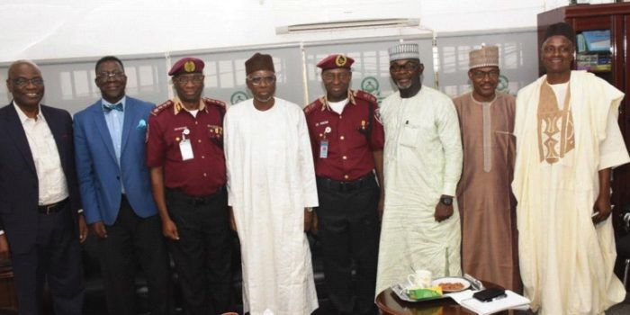 The Corps Marshal Visits National Universities Commission HQ