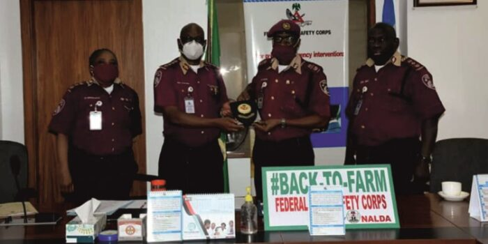 Valedictory Session By FRSC Top Management  For Retiring Assistant Corps Marshal Angus Ibezim