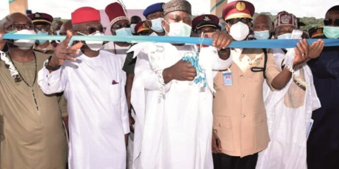 Inauguration Of The New Administration Block Of FRSC Academy, Udi