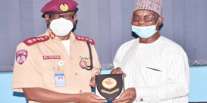 Corps Marshal Visits News Agency Of Nigeria HQ