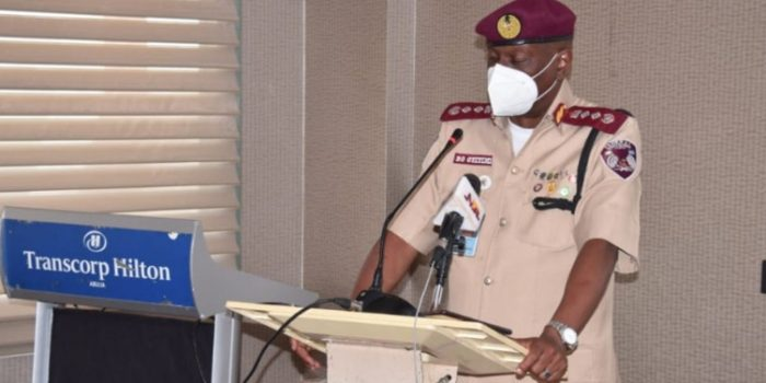 Corps Marshal's Parley  With High Command Of FRSC