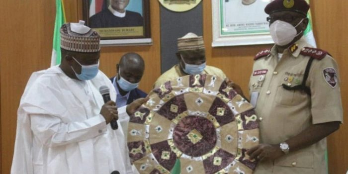 Corps Marshal Visits Sokoto State Government House