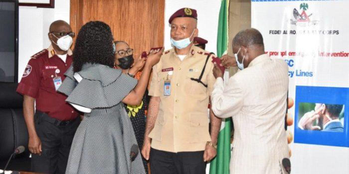 Decoration Of Deputy Corps Marshal Victor C. Nwokolo