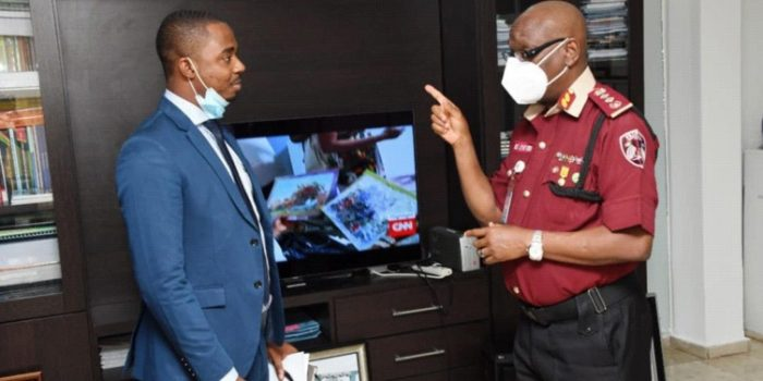 Head Of Sierra Leone Road Safety Authority Visits RSHQ