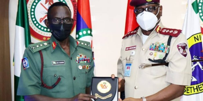 Corps Marshal Visits Defence Headquarters