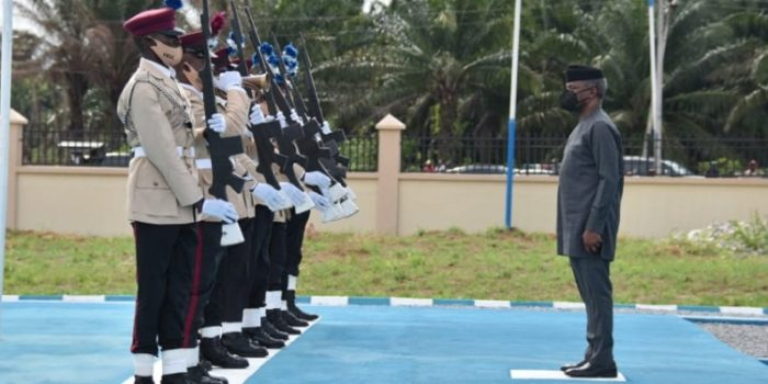 Inauguration And Handing Over Of FRSC Marshal Inspectorate Training School, Owa Alero