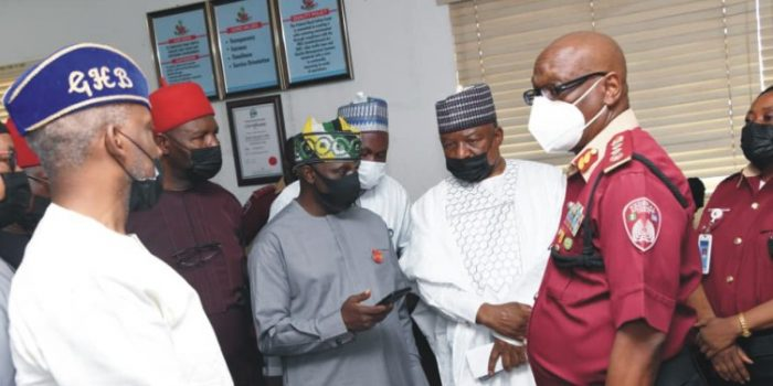 Senate Committee On Federal Character And Inter Government Affairs Visits RSHQ