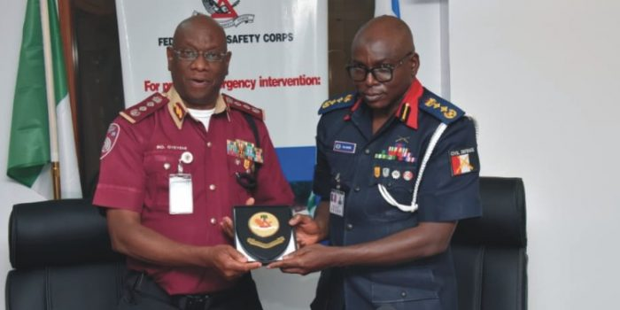 Controller General Of NSCDC Visits RSHQ
